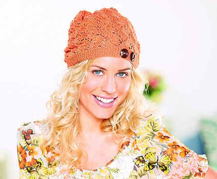 Hyades Lace Slouch Beanie