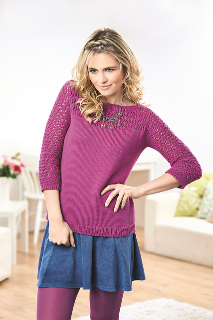 Joelle - Copyright Let's Knit Magazine